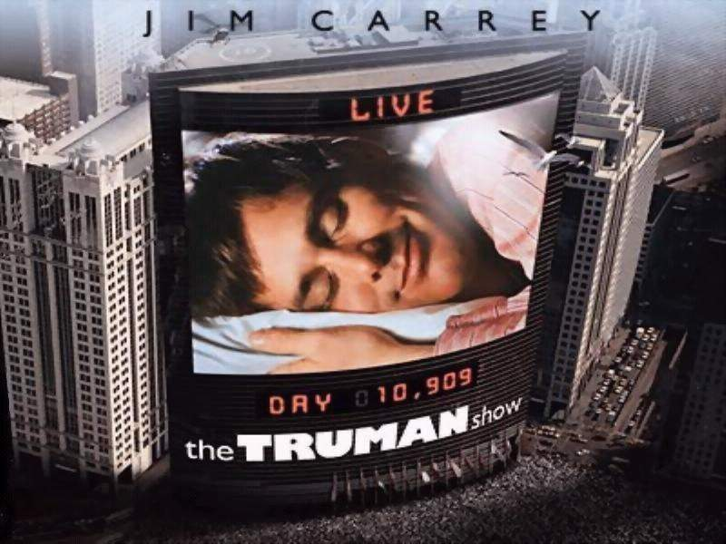 symbols in the truman show The truman show is a satire, and contains a thinly veiled religious allegory the aptly-named christof is a mysterious character with a god complex who uses his omnipresence to control truman - both physically and mentally - for the sake of ratings.