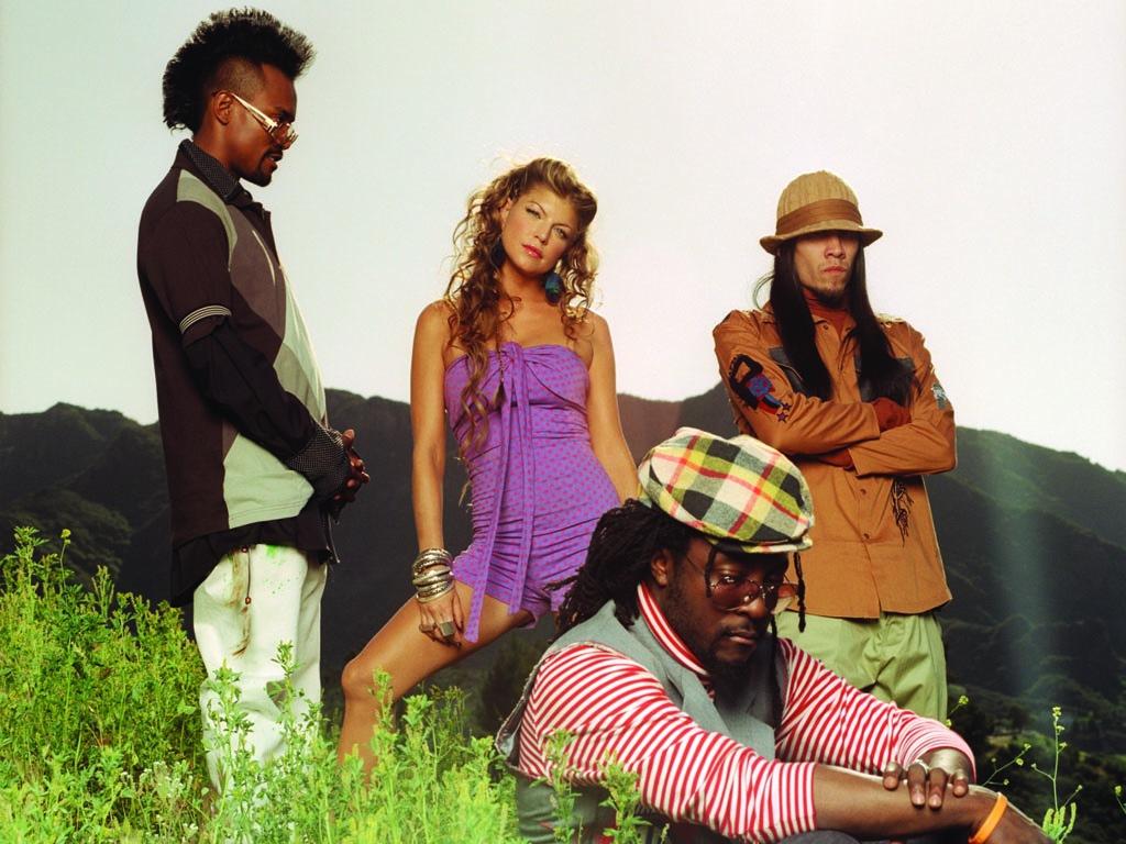 Full size Black Eyed Peas wallpaper / Music / 1024x768