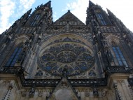 Front of Saint Vitus Cathedral / Architecture