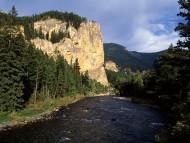 Gallatin Canyon, Montana / Canyons