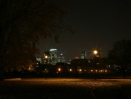 City Park At Night, Montral, Canada / Cities