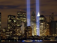 Tribute to light, Ground Zero, N.Y. / Cities