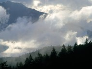 Olympic Mountains and Clouds, Washington / Clouds