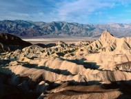 Zabriskie Point, Death Valley, California / Deserts