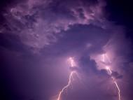 Lightning over Dauphin Island, Alabama / Forces of Nature