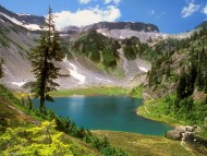 Alpine Jewel, Bagley Lake, Mount Baker Wilderness, Washington, Mountain's Valley / Lakes