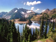 Hart Lake in the Heart of the Olympic Mountains / Lakes