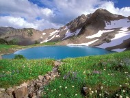 Alpine Tranquility, Olympic National Park, Washington, Highlands / Lakes