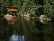 Pont Couvert Aux Chutes A Bull, Canada / Landscape