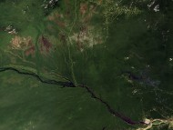 Amazon Basin, Brazil, Seen From Space / Maps