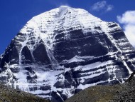 Unclimbable and Sacred Mount Kailash in Tibet / Mountains