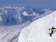alaskan snowboarder / Snow