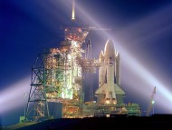 Shuttlecraft at launch / Space