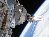 Download NASA Astronaut in Space / Space