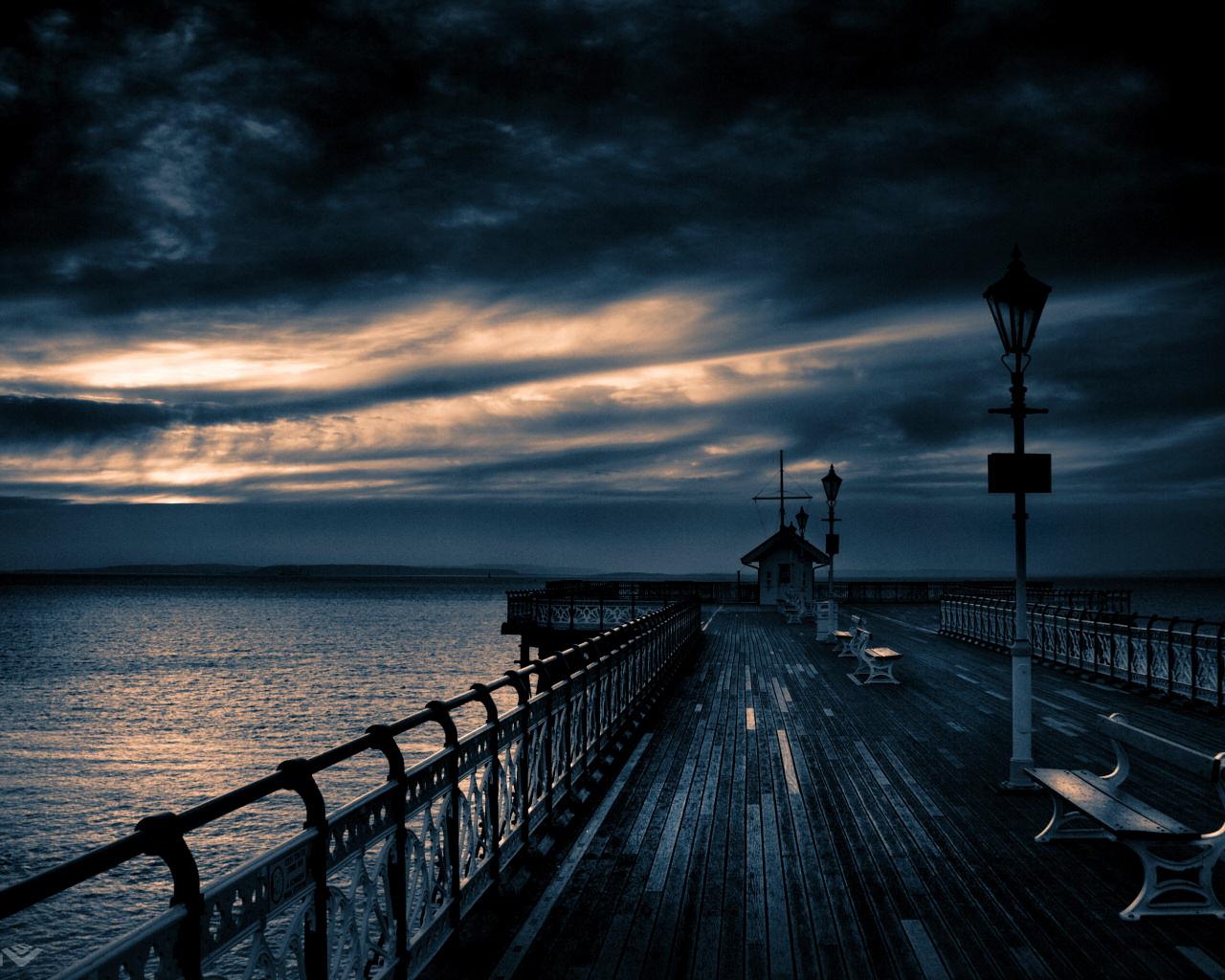 Free Download HQ Pier Storms Wallpaper Num. 5 : 1280 x 1024 618 Kb