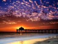Colorful Sky, Manhattan Beach, California / Sunset