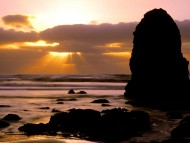 Cape Meares Sunset, Tillamook County, Oregon / Sunset