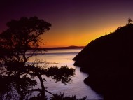 Anacortes, Fidalgo Island, Washington / Sunset
