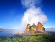 Fly Geyser, Black Rock Desert, Nevada / Volcanos