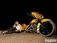 Yellow Baggers / Girls & Bike