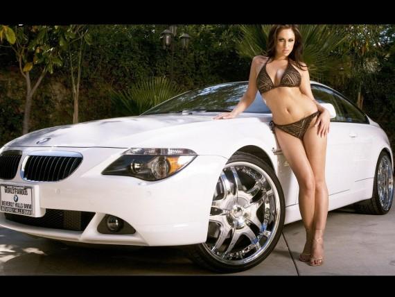 Girls & Cars Wallpaper Num