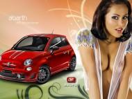 abarth 695 tributo ferrari / Girls & Cars