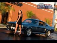SoCol Customs mustang / Girls & Cars