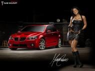 Red Pontiac G8 GXP / Girls & Cars