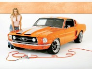 mustang / Girls & Cars