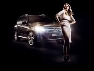 GLK Mercedes / Girls & Cars