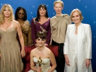 Goldie Hawn, Whoopi Goldberg, Anjelica Huston, Penelope Cruz, Tilda Swinton, Eva Mar / Oscar Nominees