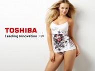 girl, toshiba, brand / Sexy Girls