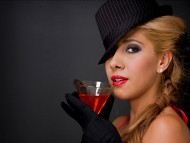 Download woman, drink / Creative Photos