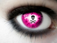 skull and crossbones / Eyes