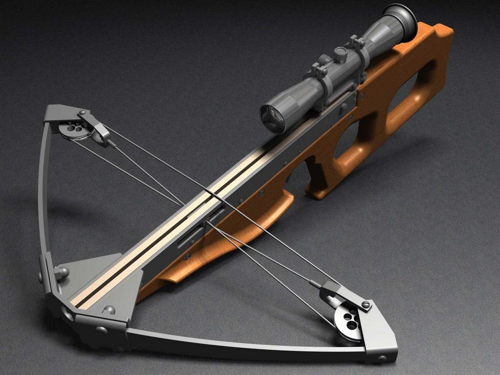Download Sharpshooter Crossbow Guns wallpaper / 1024x768
