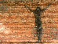 Jesus On A Wall / Photo Art Design