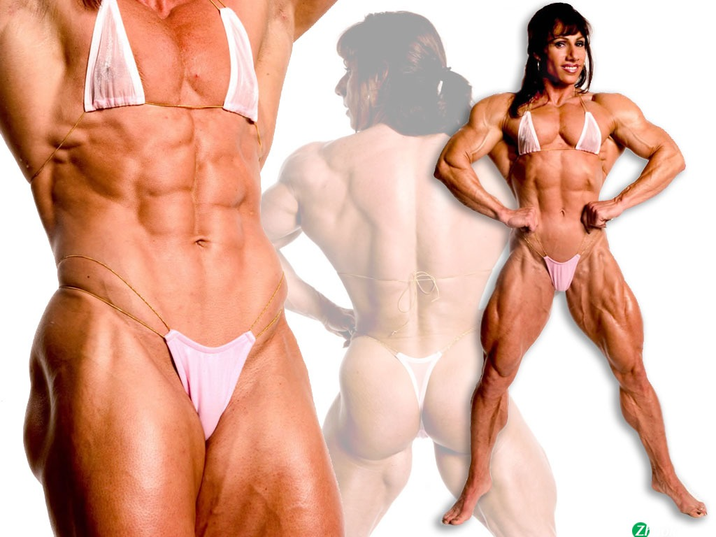 Jaczko female body building wallpaper fitness men body builder