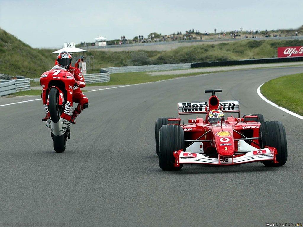 Download moto vs engine Formula 1 wallpaper / 1024x768