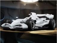 white concept / Formula 1