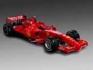 red Ferrari / Formula 1