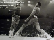 The fight is won or lost... Ali / Muhammad Ali