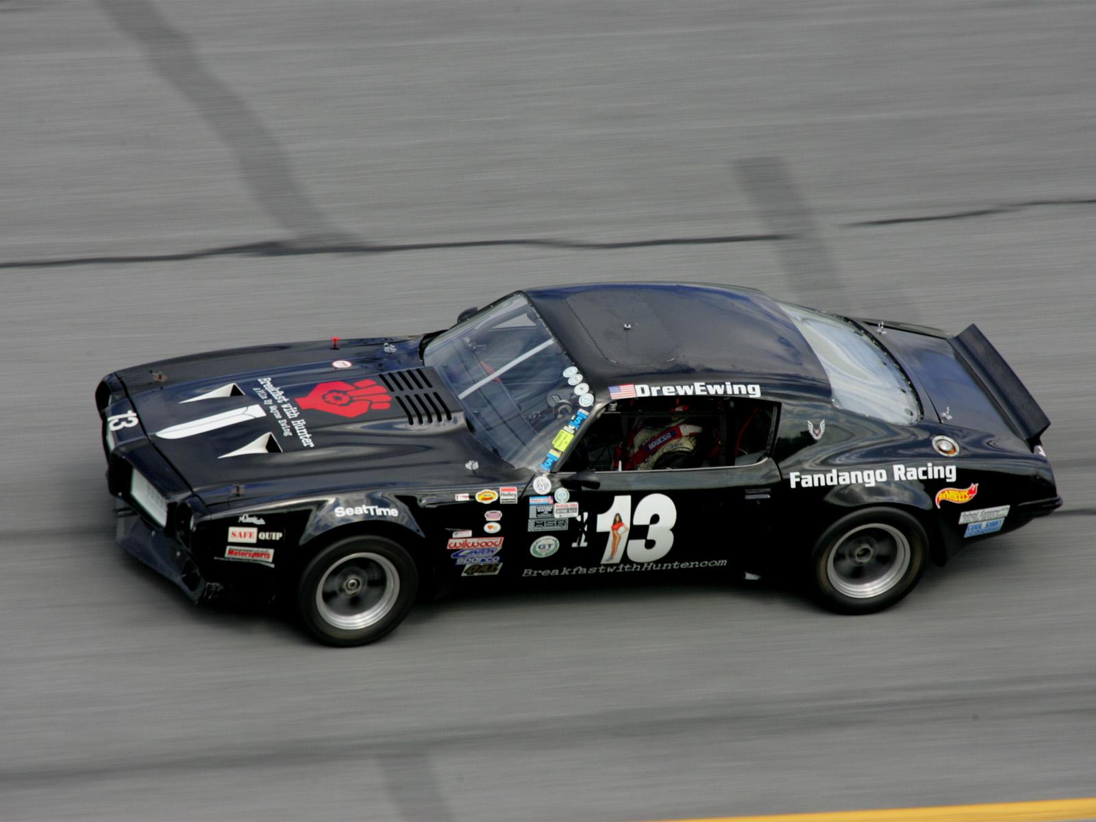 Black Race Car