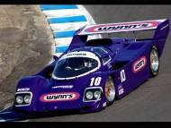 purple Porsche Hotchkis / Racing Cars