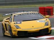Yellow Lamborghini / Racing Cars
