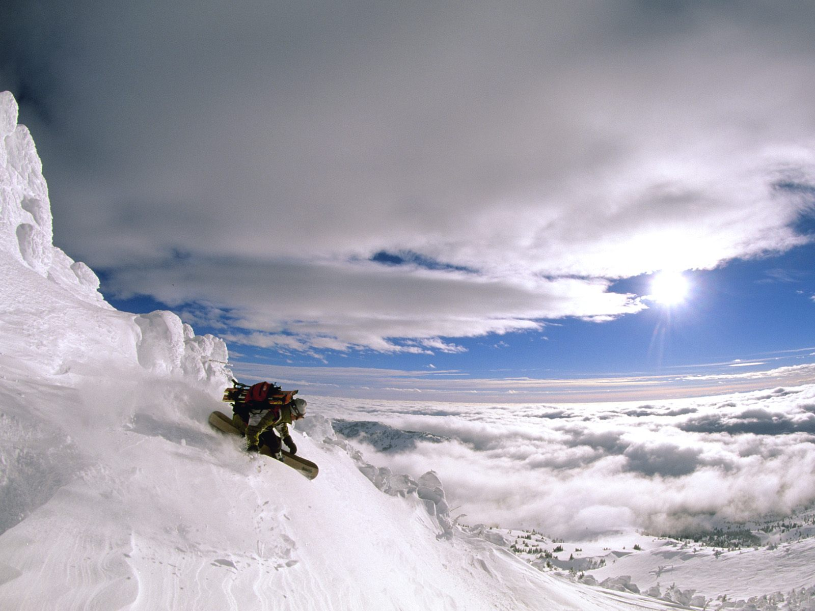 extreme snowboarding wallpapers - photo #11