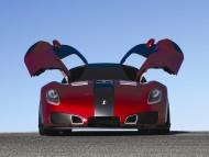 red Devon GTX doors open / Super cars