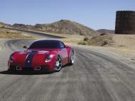 red Devon GTX DMW on road / Super cars