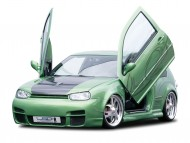 LSD lambo doors green / Super cars