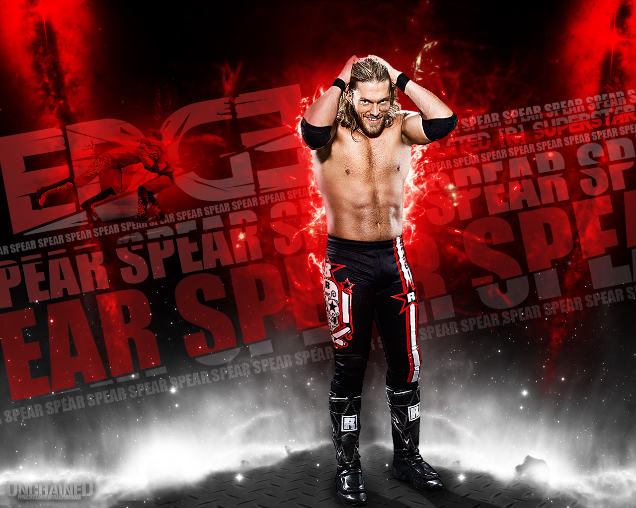 free download high quality spear wrestling wwe wallpaper