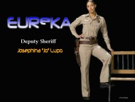 eureka, tv, erica cerra, deputy sheriff, sexy, babes, experiment, josephina lupo / Eureka